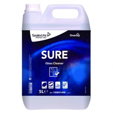 Stiklų valymo priemonė Sure Glass Cleaner, 5l