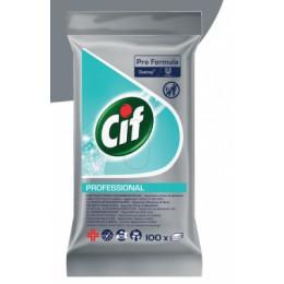 Drėgnos servetėlės paviršiams Cif Professional, 100vnt