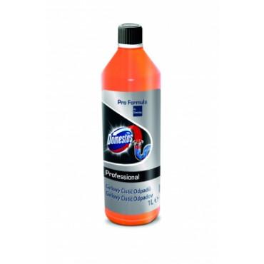 Kanalizacijos vamzdžių valymo priemonė Domestos Professional Drain Unblocker Gel, 1l