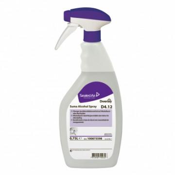 Dezinfekavimo priemonė alkoholio pagrindu Suma Alcohol Spray D4.12, 750ml