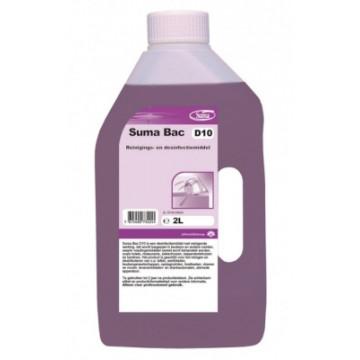 Valymo-dezinfekavimo priemonė Suma Bac D10, 2l
