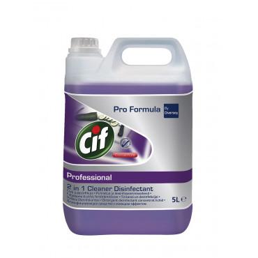 Valymo-dezinfekavimo priemonė Cif Professional 2in1 Conc, 5l