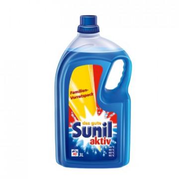 Skysta skalbimo priemonė stipriai užterštiems skalbiniams Fit Sunil aktiv, 2l