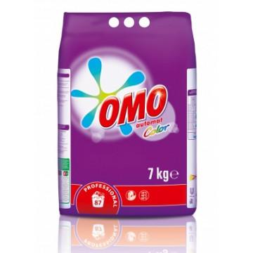 Skalbimo milteliai OMO Professional Color, 7 kg