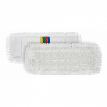 Šluostė grindims Wet Disinfection mikropluošto, balta, 40x13cm