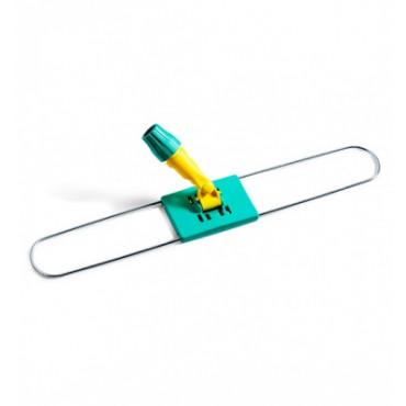 Laikiklis grindų šluostei su plastikiniu koto fiksatoriumu, metalinis, 100cm