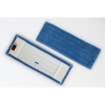 Šluostė grindims su kišenėmis M-Microfiber, mikropluošto, 40x13cm