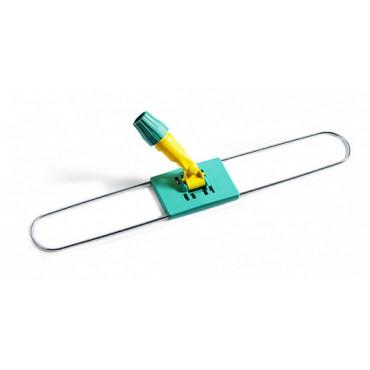 Laikiklis grindų šluostei su plastikiniu koto fiksatoriumi, metalinis, 60cm