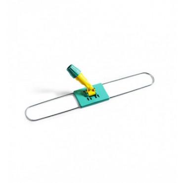 Laikiklis grindų šluostei su plastikiniu koto fiksatoriumu, metalinis, 80cm