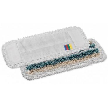 Šluostė grindims Wet Desinfection, mikropl./medv./poliest., 40x13cm