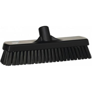 Kietas šveitimo šepetys Vikan, juodas, 30cm