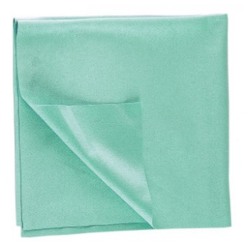 Mikropluošto šluostė Textronic, 38x40 cm, žalia