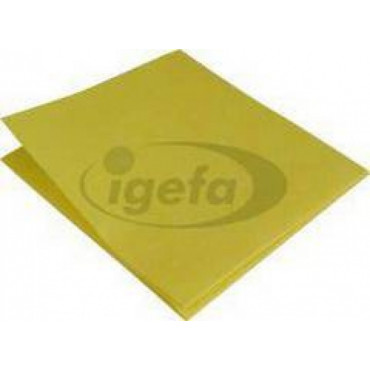 Šluostė ECO63, geltona, 38x40cm