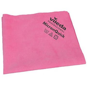 Mikropluošto šluostė Vileda MicronQuick, raudona