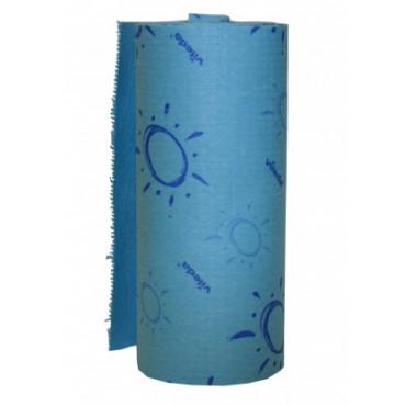 Sugeriančios šluostės rulonais Vileda Quick n Dry, 25cm x 10m