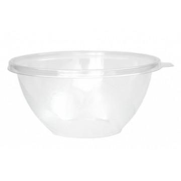 Vienkartiniai dubenėliai salotoms (tinkamas SAL18CV25C, SAL18CV8C), APET, skaidrūs, ø18 cm, 1000 ml, 50 vnt.