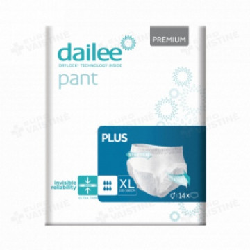 Sauskelnės - kelnaitės Dailee Pants PLUS, XL, 14 vnt pakuotė