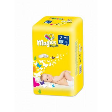 Vaikiškos sauskelnės Dailee Magics Easysoft Mini, 60 vnt pakuotė