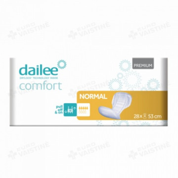 Įklotai Dailee Comfort Normal S, 28vnt pakuotė