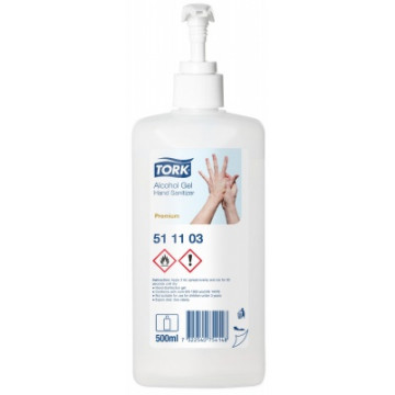 Rankų dezinfekantas Tork Premium Alcohol Gel Hand Sanitizer, 500ml