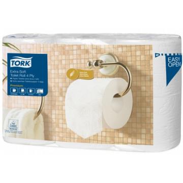 Tualetinis popierius rulonais Tork Extra Soft T4, 4sl.