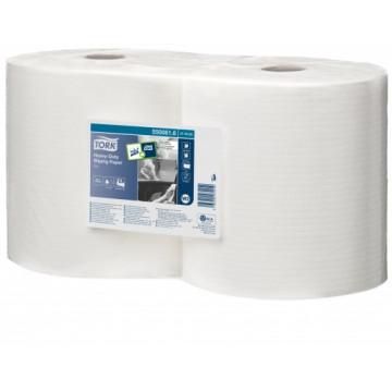 Neaustinės tekstilės sausos šluostės rulonais Tork Heavy Duty 350 W2, 1sl.