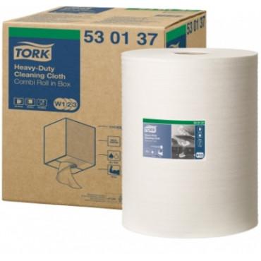 Neaustinės medž. šluostės rulonais Tork Premium 530 W1/W2/W3