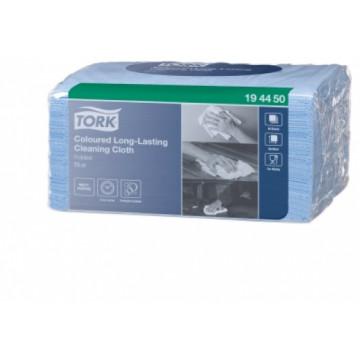 Spalvotos šluostės Tork Premium W8, mėlynos, 38x30cm, 40vnt