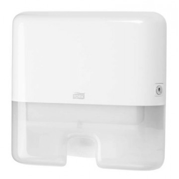Rankšluosčių servetėlėmis dozatorius Tork Elevation Interfold Mini H2, baltas