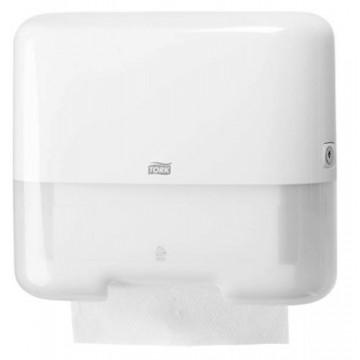 Rankšluosčių servetėlėmis dozatorius Tork Elevations ZZ/C Mini H3, baltas