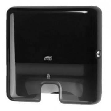 Rankšluosčių servetėlėmis dozatorius Elevation Interfold Mini H2, juodas