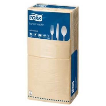 Stalo servetėlės Tork Advanced, 33x33cm, smėlio spalvos , 2sl.