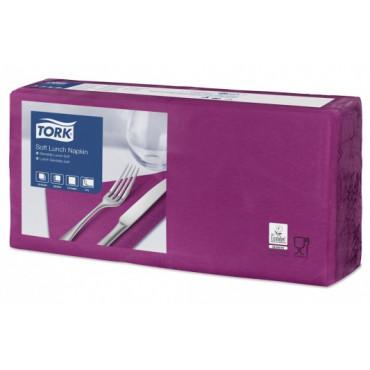 Stalo servetėlės Tork Advanced, 33x33cm, violetinės, 3sl.