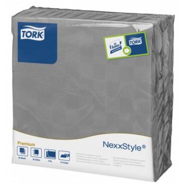 Stalo servetelės Tork Premium NexxStyle, 38x39cm, pilkos, 2sl.