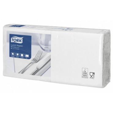 Stalo servetėlės Tork Advanced, 32,5x33, baltos, 2sl.