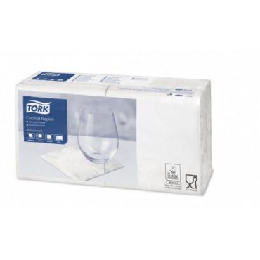 Stalo servetėlės Tork Advanced, 24x24cm, sulankstymas 1/4, baltos, 2sl.