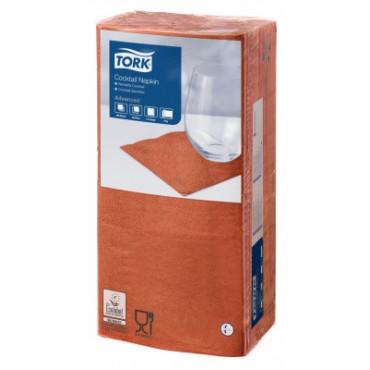 Stalo servetėlės Tork Advanced, 24x24 cm, terakotos spalvos, 2 sl.
