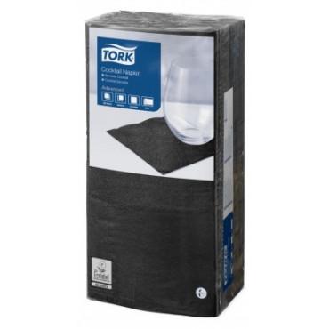 Stalo servetėlės Tork Advanced, 24x24 cm, juodos, 2 sl.