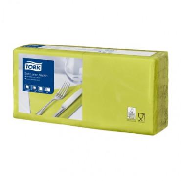Stalo servetėlės Tork Advanced, 33x33 cm, šviesiai žalios, 3sl.