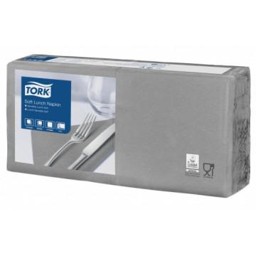 Stalo servetėlės Tork Advanced, 33x33 cm, pilkos, 3sl.