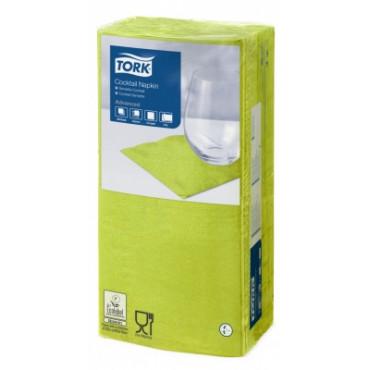 Stalo servetėlės Tork Advanced, 24x24 cm, žaliųjų citrinų spalvos, 2 sl.