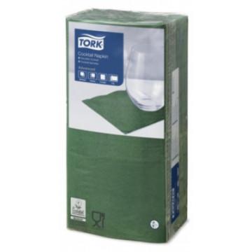 Stalo servetėlės Tork Advanced, 24x24 cm, tamsiai žalios, 2 sl.