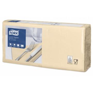 Stalo servetėlės Tork Advanced, 33x33cm, smėlio spalvos, 2sl.