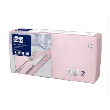 Stalo servetėlės Tork Advanced, 33x33 cm, rožinės, 3sl.