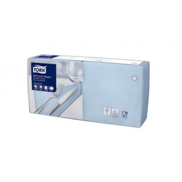 Stalo servetėlės Tork Advanced, 33x33 cm, šviesiai mėlynos, 3sl.