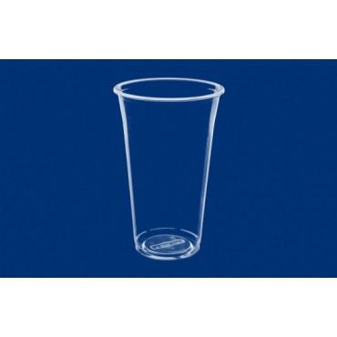 Vienkartinė stiklinė karštiems ir šaltiems gėrimams PP 500ml, 70vnt