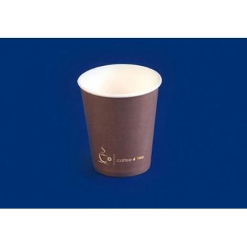 Vienkartiniai puodeliai kavai, popieriniai (dangtelio kodas 214270) 150ml, 100vnt.