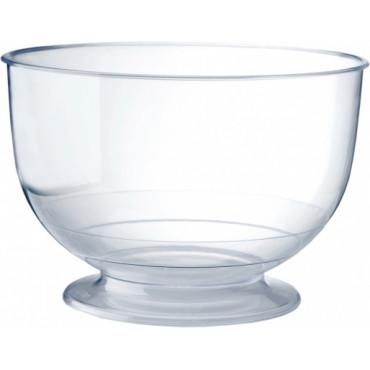 Duni Vienkartinės stiklinės ledams,  Crystallo 260 (200) ml, skaidrios, PS, max +100°C, 20 vnt