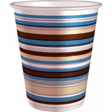 Duni Vienkartiniai puodeliai kavai (214270), 200 ml, juostelėmis, PAP/PE, max +100°C, 75 vnt.