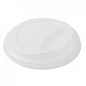 Duni vienkartiniai dangteliai Ecoecho™ puodeliams kavai (tinkamas 182531, 182532), CPLA, balti, 50 vnt.